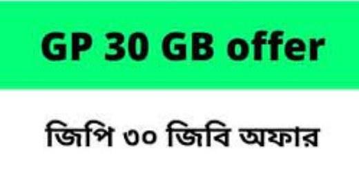 Grameenphone 30GB Pack